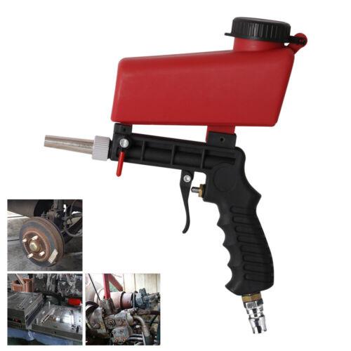 Portable Gravity Sandblasting Gun Handheld Pneumatic Sand Blasting Machine 90PSI