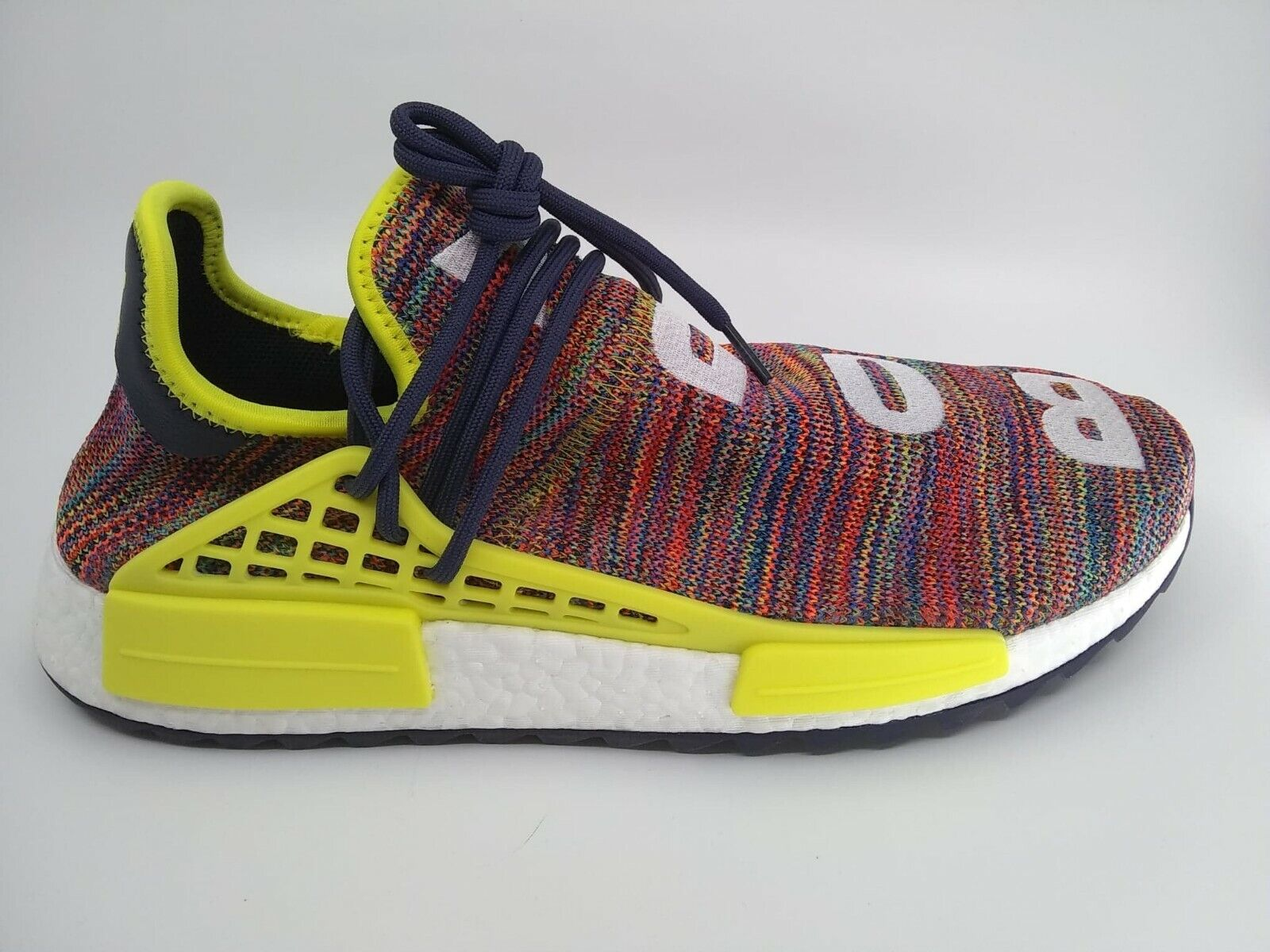 Adidas Mens PW Human Race NMD TR  MULTICOLOR  Noble Ink Yellow Size 12.5 AC7360