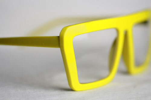 Nerd Brille 80er Jahre Square Style Damen und Herren 745