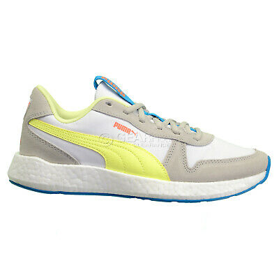 Puma NRGY Neko Retro Sweet Womens Running Shoes Casual Sneakers White -  Size 9 | eBay