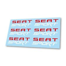 Seat FR Premium Cast Door Decals Stickers Leon FR Cupra Ibiza Altea SC ST Mii