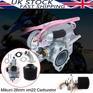 UK Carburettor Carburetor Fit VM22 26mm Carb 140cc 125cc 110cc Pit Dirt Bike