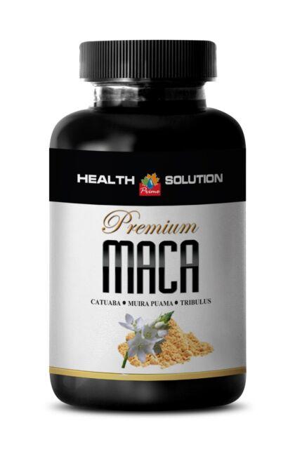 Peruvian Maca Root Extract 1300mg - Catuaba - Libido Enhancer Pills - 1B
