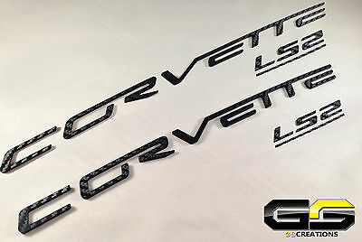 Chrome 2005-2013 C6 Corvette Domed Size as Dash Lettering Letters Decal Kit 3D