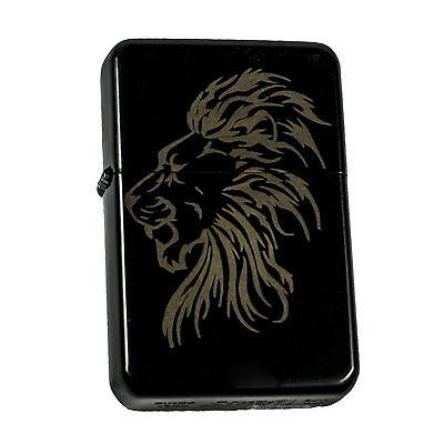 Lighter- Lion  black lighter L1