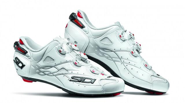 White//White New SIDI Shot Road Bike Bicycle Cycling Cleat Shoes