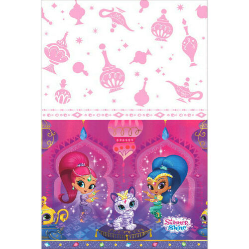 """Shimmer /& Shine Plastic Table Cover 54/"""" x 96/"""""""