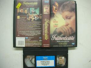 INDIMENTICABILE 2001 VHS Italian