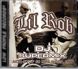 Details about LIL ROB- DJ Super Mix CD NEW Chicano Rap