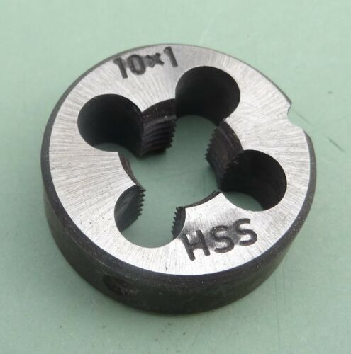HSS Schneideisen M10x1 MF ISO Feingewinde Gewindeschneider Gewinde M 10