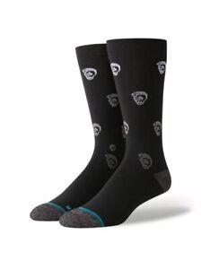 """Stance /""""I Got Dressed Today/"""" Socks Black Size Large 9-12"""