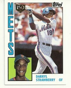 Details About 2019 Topps Baseball Iconic Card Reprint Darryl Strawberry 150th Parallel Rc