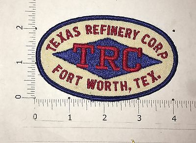 Texas Refinery Corp Patch - Vintage - Fort Worth Texas - TRC