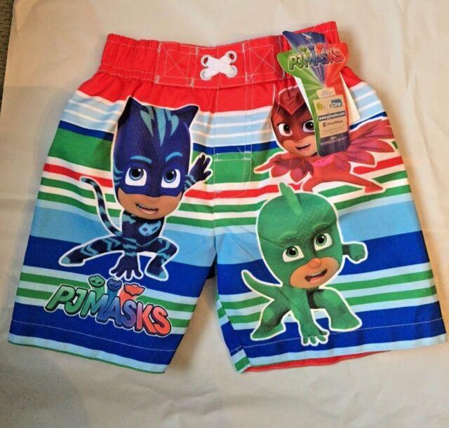 c90039ef78 PJ Masks Boy's Swim Trunks Swimwear Toddler Size 2t. for sale online ...