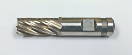 ".010/"" Radius .725/"" 6-Flute Cobalt NCC Plunge Cut End Mill MF420011928"