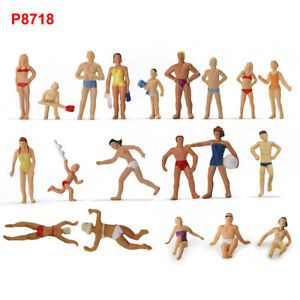 40pcs-HO-Scale-Swimming-Figures-1-87-Seaside-Visitors-Swimming-People-P8718
