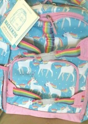Pottery barn LARGE TECH Unicorn BACKPACK bag Parade pony horse pink school girl