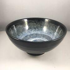 """Japanese 7.75/"""" Ceramic Donburi Ramen Noodle Soup Bowl TEKKA MIZUWA Made in Japan"""