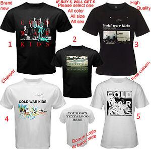 5ead6daa0 Cold War Kids BAND Album Concert Tour T-shirt Adult S-5XL Youth ...