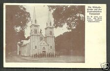 Vunapope Church New Britain Papua New Guinea stamps 1932