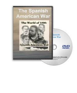 The 1898 Spanish American War Film Series on DVD - A273