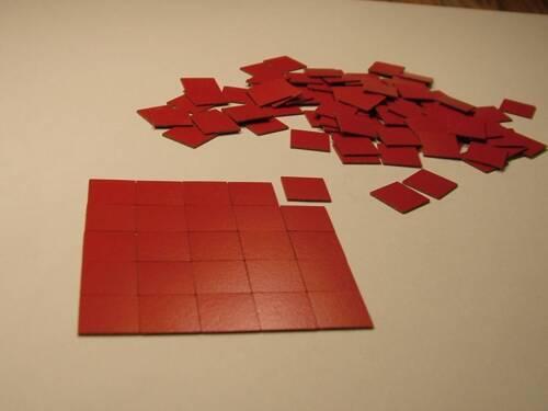 "Quarry intervallo DOLLS House flooring.dolls House Miniatures 1//4 /""Square TASSELLI"