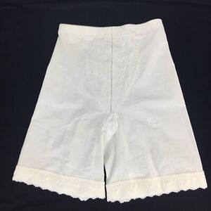 Vintage-Playtex-I-Can-039-t-Believe-Its-a-Girdle-Size-Small-White-Long-Leg-Garter