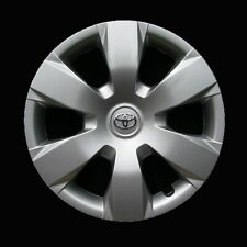 Hubcap For Toyota Camry 2007 2011 Genuine Oem Factory Wheel Cover Silver 61137 Fits Toyota