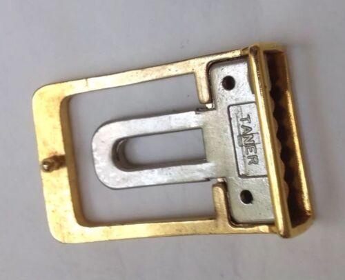 Vintage Open Frame Belt Buckle Leather Work