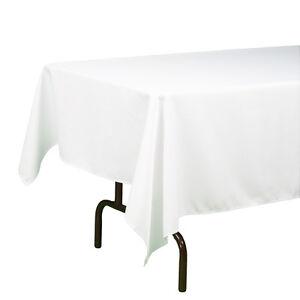 "Richland Rectangle Tablecloth 60""x 102"" Linen (12 Colors)"