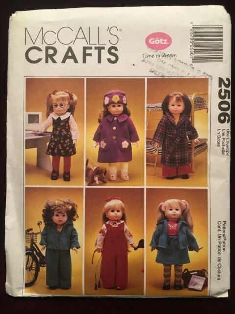 "Luminous Doll Clothes Sewing Pattern for 16/"" Curvaceous new DeeAnna Tonner"