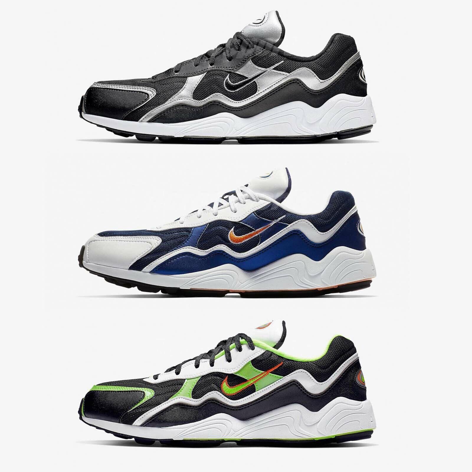 Nike Air Zoom Alpha schwarz Silber 90er Retro Style Men Running schuhe Pick 1