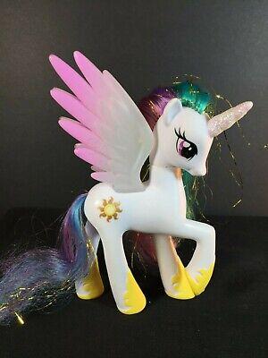 My Little Pony G4 Princess Celestria White Unicorn Wings Sun Brushable Y Ebay