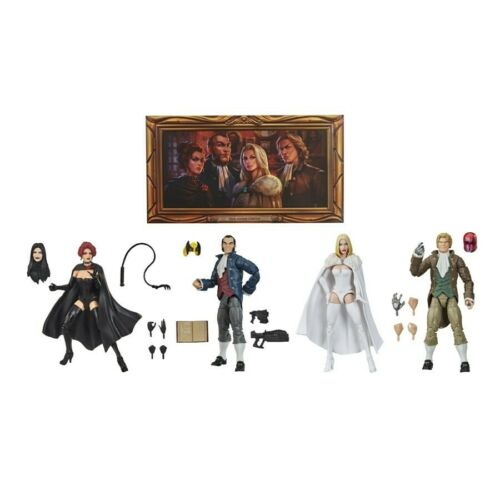 Marvel Legends Hellfire Club SDCC Exclusive Brand New In Hand 4 Figure Set