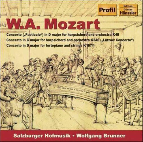 Klavierkonzerte von Salzburger Hofmusik,Wolfgang Brunner (2006), Neu OVP, CD