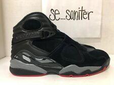 79a638ef2e6 item 7 Nike Air Jordan 8 Retro Black Gym Red Wolf Grey 305381 022 Men's  Size 9 -Nike Air Jordan 8 Retro Black Gym Red Wolf Grey 305381 022 Men's  Size 9