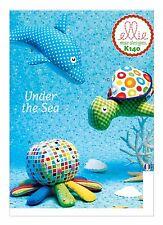 Kwik Sew SEWING PATTERN K140 Dolphin,Octopus & Turtle Toys