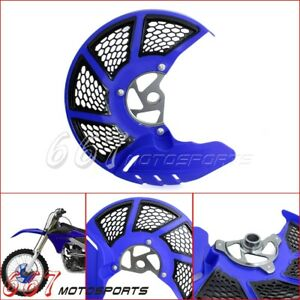 Front Brake Disc Rotor Guard Cover For Yamaha YZ125 YZ250 YZ250F YZ450F WR450F
