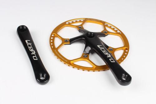 Litepro Bike Crankset 170mm BCD 130mm Chainring 45-58T Chain Ring Cycling Racing