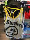 Pittsburgh Steelers Ladies Medium Tri-Blend Performance NFL Football Tank Top