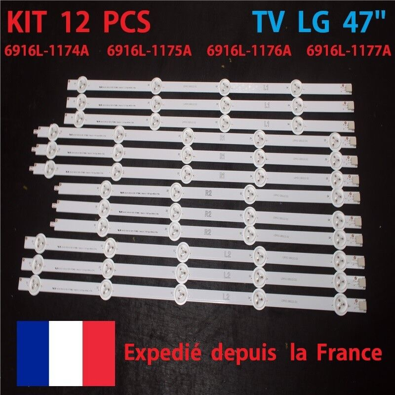 TV LG 47 47LN577S STRIP DEL 6916L-1174A 6916L-1175A 6916L-1176A 1177A NEW