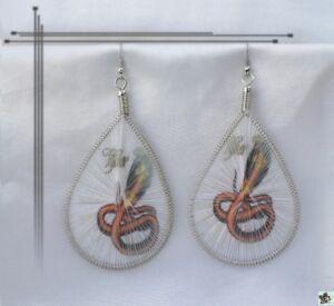 Boucles d'Oreilles Fil Tissé Mot yDLWEOLm-09161826-971243412