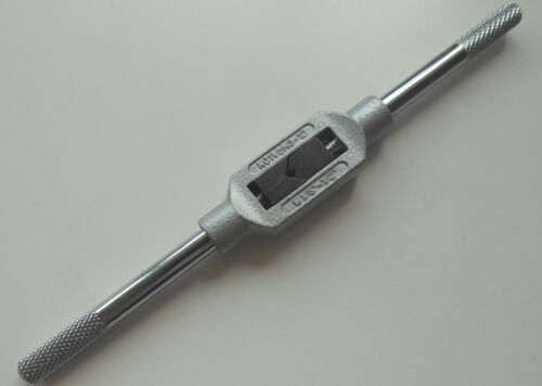 M12 or 3//16-1//2 1pc New Adjustable Tap Handle /& Reamer Wrench M4