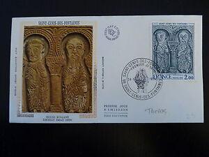 France Premier Jour Fdc N° 1867 Eglise St Genis 2f St Genis Des Fontaines 1976 Doux Et LéGer