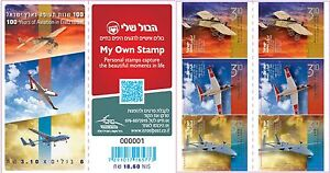 ISRAEL 2013 100 YEARS OF AVIATION IN ERETZ ISRAEL BOOKLET MNH