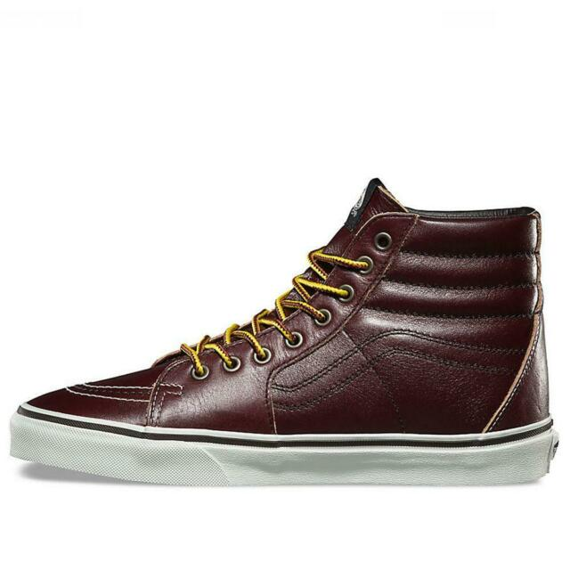 Vans Sk8 Hi Ground Breakers Rum Raisin Brown VN0A38GEOE5