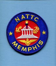 NATTC NAVAL AIR TECHNICAL TRAINING CENTER MEMPHIS US Navy Base Squadron Patch