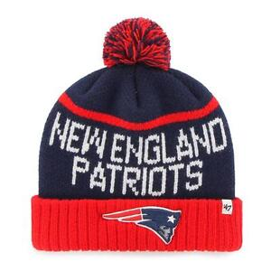 45e2be755d6 NFL New England Patriots  47 Linesman Cuff Knit Beanie with Pom