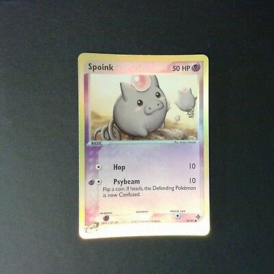 Pokemon EX Drache 74//97 Spoink