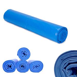240L Müllsäcke blau EXTRA STARK Müllsack Müllbeutel Mülltüten Liter Typ 80 Rolle